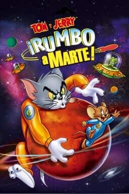 KeyArt: Tom y Jerry: Rumbo a marte