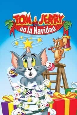 KeyArt: Tom y Jerry en la Navidad