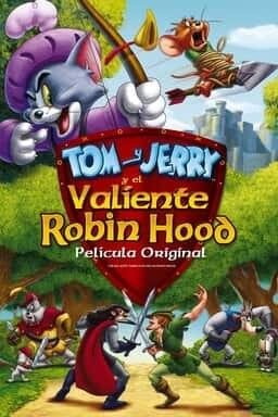 KeyArt: Tom y. Jerry y el Valiente Robin Hood
