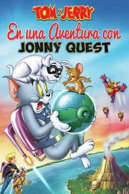 KeyArt: Tom y Jerry en una aventura con Jonny Quest