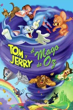 KeyArt: Tom y Jerry y el Mago de Oz