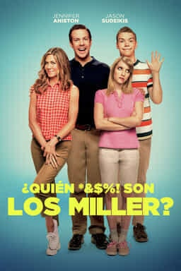 KeyArt: ¿Quién *&$%! Con los Miller?