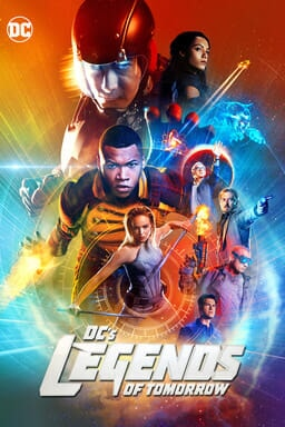 DC Legends of Tomorrow Temporada 2 - Key Art