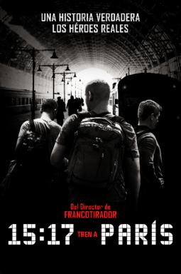 15:17 Tren a París - Key Art