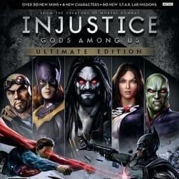 Injustice: Gods Among Us - Key Art