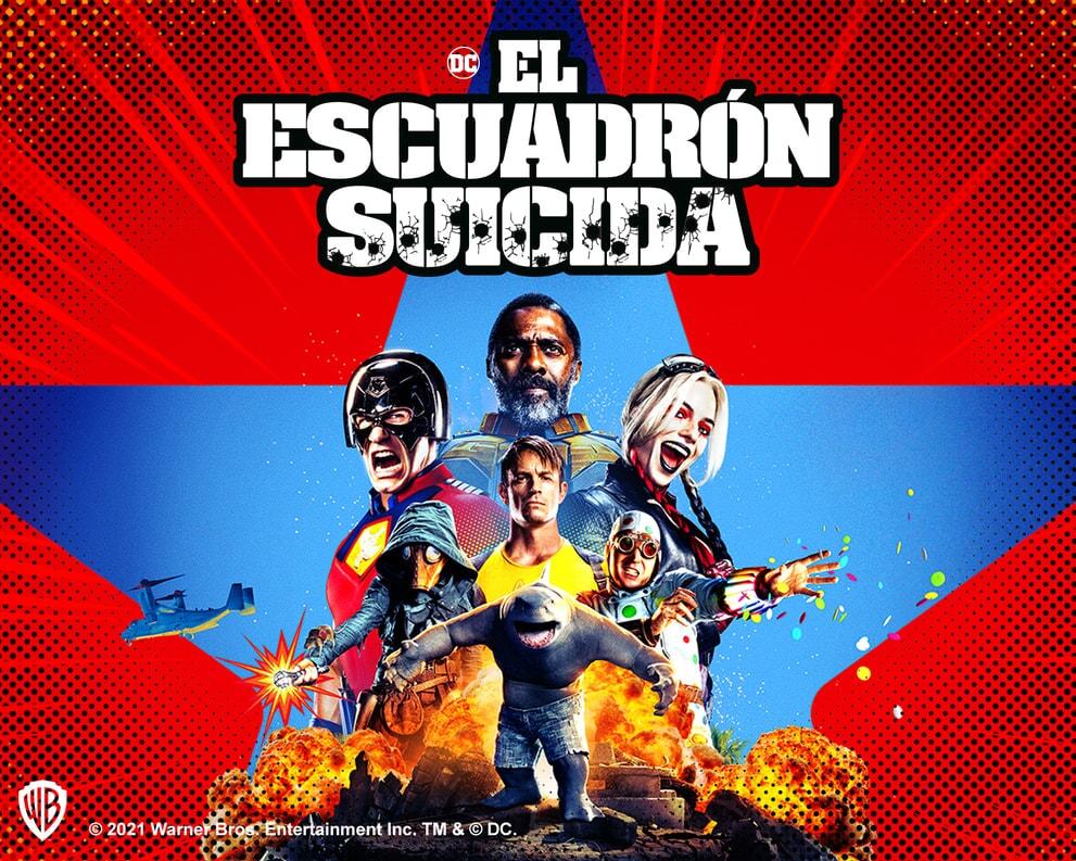 el escuadron suicida, harley quinn, the suicide squad, king shark, dc